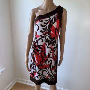 Bisou Bisou dress size 6, NWT, midi .